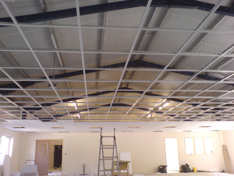 LaserLine Ceilings & Partitions Devon Cornwall suspended ceiling